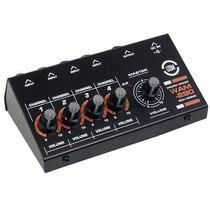 Micro Mezcladora 4 Canales Para Microfonos