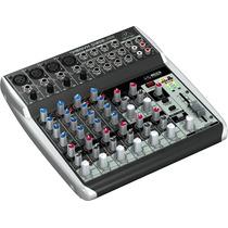 Mezcladora Behringer Q1202usb 12 Entradas C Interfaz D Audio