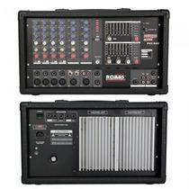 Mezcladora De 6 Canales Romms Pmx-r60mp3