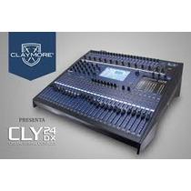 Mezcladora Digital Claymore Cly24dx, Nueva!