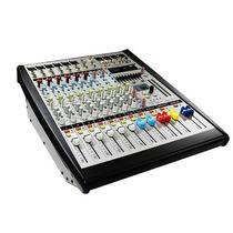 Mezcladora Amplificada Stereo 8ch Usb/sd 650w Rms