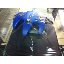 Nintendo 64 Consola N64 Con Control Nuevo Y Tres J.regalo