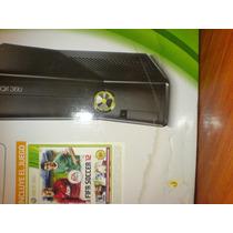 Xbox 360 Slim 4gb Con Kinet Y Juego Adventrures Fn4