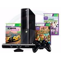Consola Xbox 360 Con Kinect Nuevo 4 Gb 3juegos Sellado (jdc)