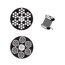 Cable De Acero Inoxidable En Rollo 7x19 1/8 Y 457 Metros Obi