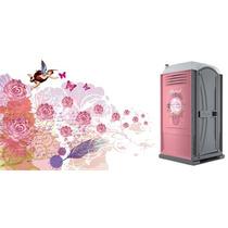 Sanitarios Portatiles Nuevos Aromatizado Rosas