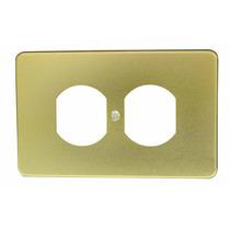 Placa De Aluminio Contacto Duplex Oro Surtek 136607 Hm4