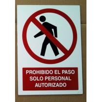 Letreros Protección Civil En Panel De Aluminio