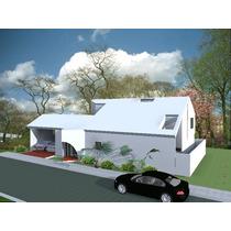 Proyecto De Casa O Remodelacion Por 100 M2