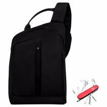 Kit Victorinox Bolso Gear Sling+navaja 14 Usos Envío Gratis