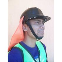 Nuquera Casco Proteccion Obra Construccion