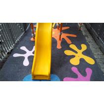 Piso Flexible Elaborado De Caucho, Areas Infantiles