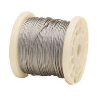 Cable De Acero Inoxidable En Rollo 7x7 3/32 Y 1005 M Obi