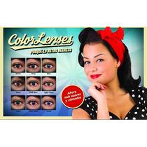 Pupilentes Soft Contact-4 Pares + Extras + Envío X 599