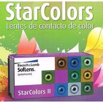 Pupilentes Soflens Starcolors 2 Baush & Lomb
