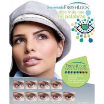 Pupilentes Freshlook-colorblends, Para Un Año Y Medio.