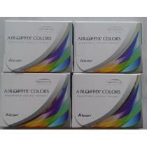 Lentes De Contacto Air Optix Clolor 5x Mas Oxigeno