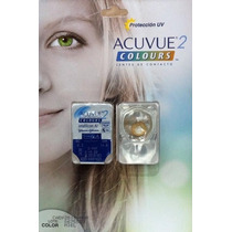 Pupilentes Look Radical Acuvue 2 Colors - Importados
