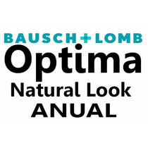 Pupilentes Optima Natural Look Bausch & Lomb Anual (un Año)