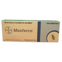 Maxforce Gel 30 Grs Insecticida En Gel Para Cucarachas 12 P