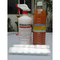Kit Contra Plagas Cucarachas Chinches Y Desinfectantes 3 Pza