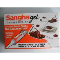 Sangha Gel Eficiente Para Control De Cucaracha Jeringa 30gr