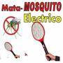 Raqueta Eléctrica Mata Insectos Moscas Mosquitos Recargable