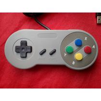 Control Gamepad Retro Usb Windows (tipo Snes)