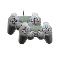 Joypad Pc Jgo 2 Pz 12 Botones T-ps Analog Vib Negro