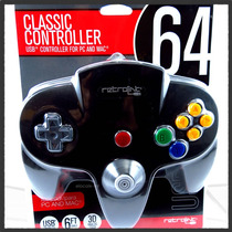 Control Nintendo N64 Usb Clasico Pc Y Mac Original Retrolink