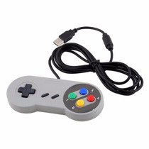 Control Usb Retro Snes O Super Nintendo Para Pc O Mac