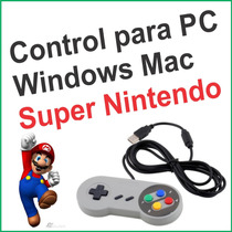 Control Usb Para Pc Retro Super Nintendo Gamepad Joypad