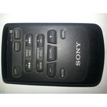 Control Remoto Para Auto Estéreo Sony. Rm X45. Original