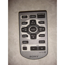 Control Remoto Para Autoestereos Sony Rm-x93