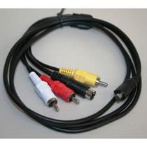 Av Cable Para Sony Dcr Dvd105 Dvd201 Hc1000 Hc30 Hc32