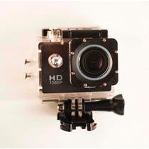 Camara Tipo Go Pro Sumergible 30 Mts Wifi 12mp Hd 1080p.