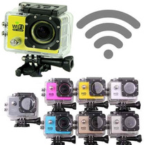 Camara Tipo Gopro W9 Sj6000 Hd Sumergible Hdmi Wifi Full Hd