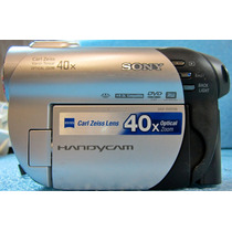 Sony Dvd Handycam Camcorder With 40x Optical Zoom Seminueva