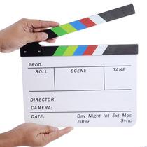 Claqueta Cromática Profesional Para Cine O Tv