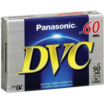 Cassette Panasonic Mini Dv Digital 60/90 Para Sony Canon Hd