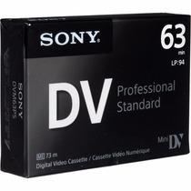 Cassete Mini Dvc Sony 60 Minutos (100% Nuevo Empacado)