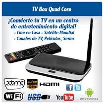 Android Tv Box Smart Tv Hdmi Xbmc Canales Y Peliculas Gratis