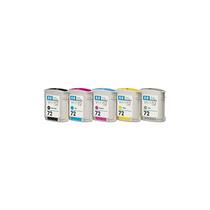 Hp 72 130-ml Ink Cartridge With Vivera Inks Cyan +b+