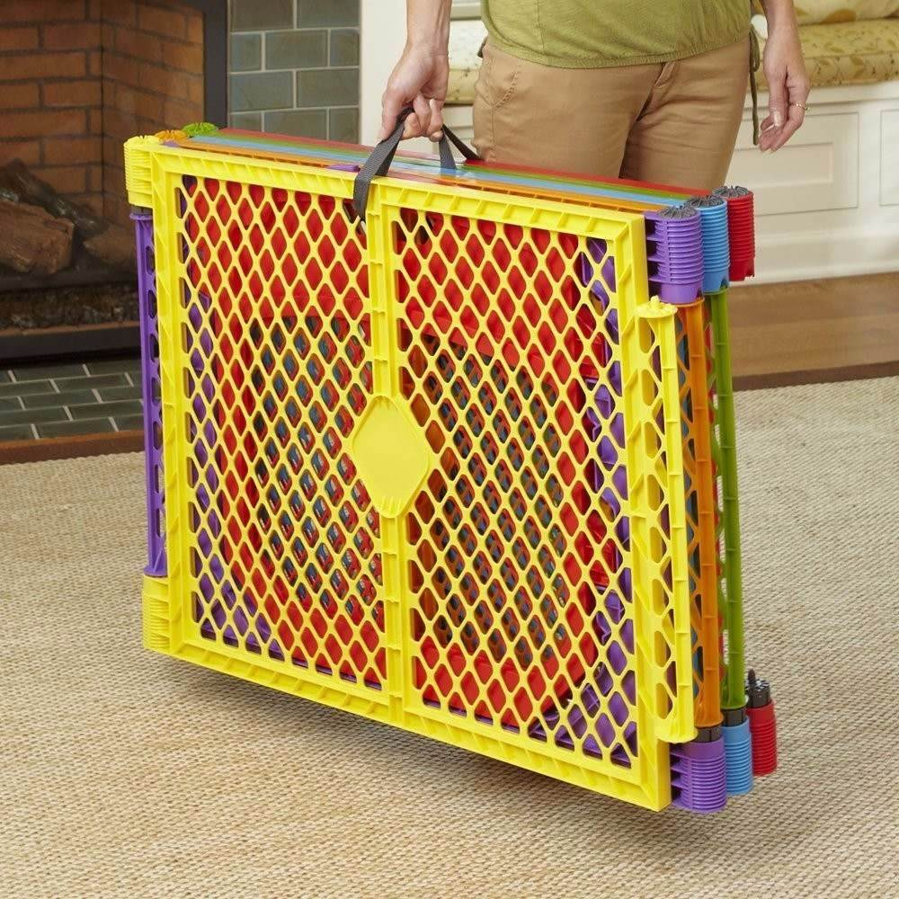 Corral de seguridad c puerta para ni os y mascotas for Puerta seguridad ninos