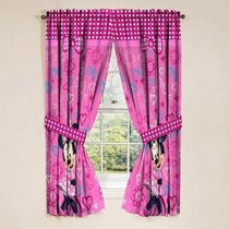 Los Paneles De La Ventana De Disney Minnie Mouse Cortinas Co