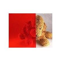 Papel Polarizado Rojo Decorativo Residencial Vv4