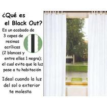Cortinas Gruesas De Vianney, Tecnología Black Out Omm