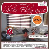 Persiana Enrollable Sheer De Marca Aluze A $599m2 + Regalo