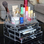Ohuhuâ® Maquillaje Cosméticos Organizador De Acrílico Transp