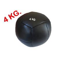 Balón Medicinal De 4 Kilos En Vinil Bola, Pelota Con Peso